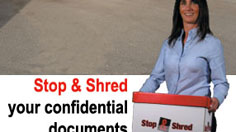Stop and Shred | Shred Documents Quickly, Securely